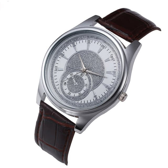 Silver Moon Luxury Men's Watch
