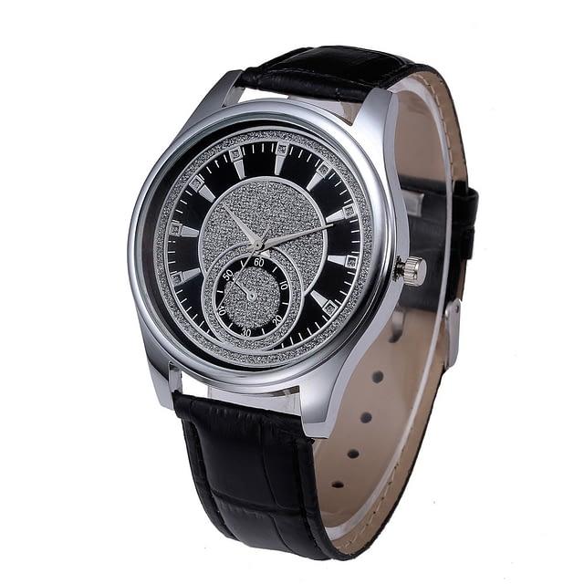 Silver Moon Luxury Men's Watch